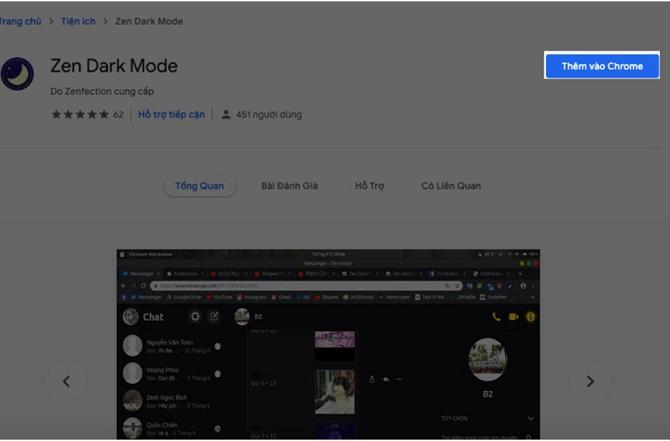 """Nhấn """"Thêm vào Chrome"""""""