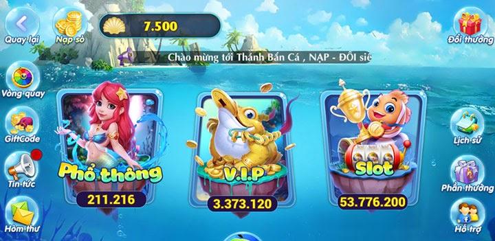 Game bắn cá đổi tiền thật