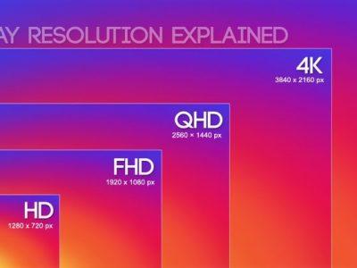 Chọn độ phân giải màn hình phù hợp