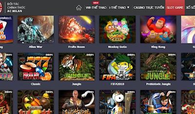 Game Slots bao gồm những tựa game nổi tiếng, đa dạng và dễ dàng chơi